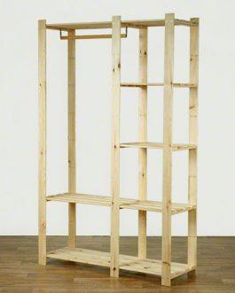 BETA medinės lentynos – kabykla
